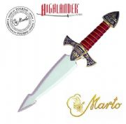 The Official Marto Best of Highlander Limited Edition Dagger in Gold